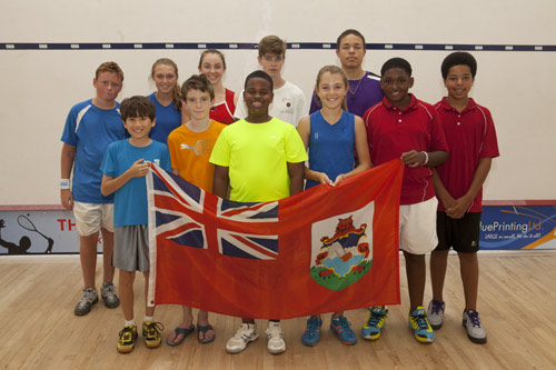 Toogood claims bronze at squash championships