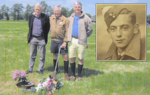 Bermudian's 'humbling' trip to where brother died in WWII