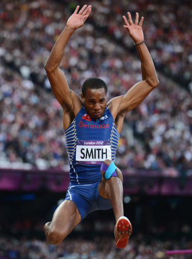HIGH HOPES: Tyrone Smith will be in Glasgow next week.