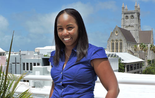 Tashae Thompson, BTA culture and leisure events manager, believes the people of Bermuda are ambassadors and that it is their interaction with our visitors that 'ultimately influences their overall experience'. *Photo supplied